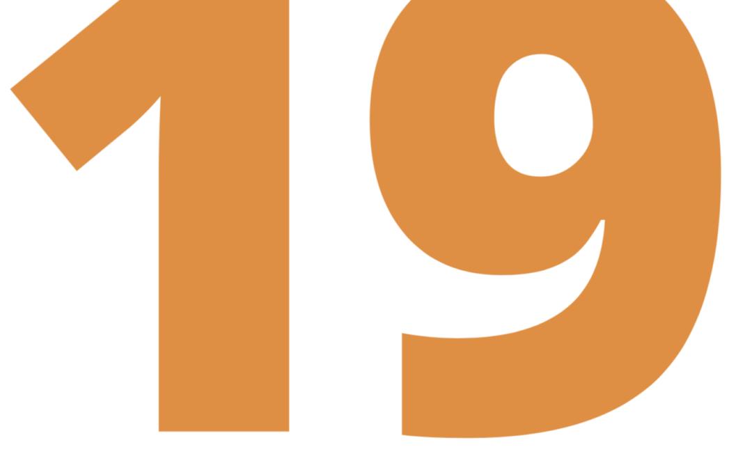 Tarieven 2019