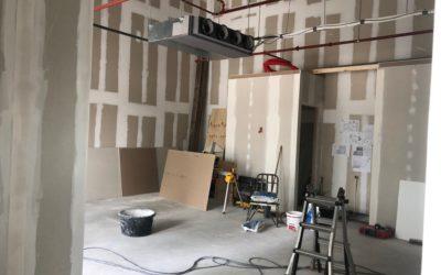 Verbouwing nieuwe locatie