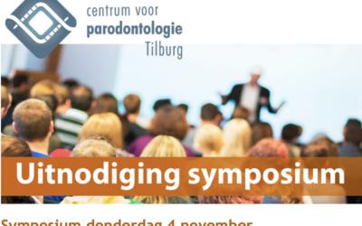 Symposium donderdag 4 november